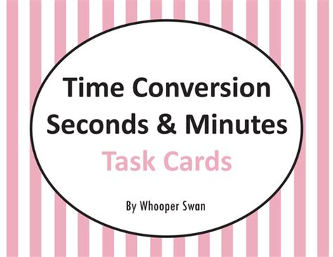Gift Card Converter Uk - time conversion task cards bundle by uk teaching resources tes