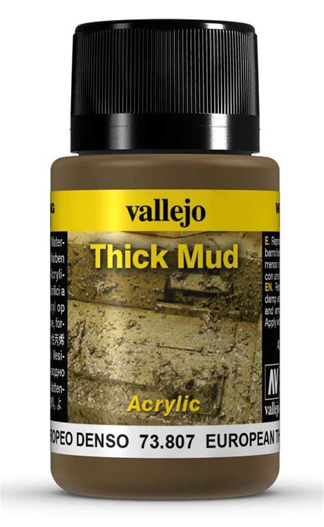 Vallejo European Splash Mud Splash Mud 73801 european mud thick mud by vallejo 73807 40ml