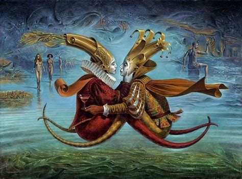 imagenes arte surrealista megapost surrealista michael cheval arte taringa
