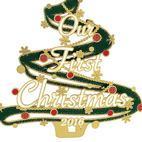 our first christmas ornament 2016 chemart ornaments