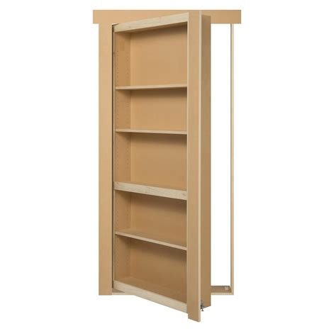 bookcase door home depot the murphy door 36 in x 80 in unassembled unfinished
