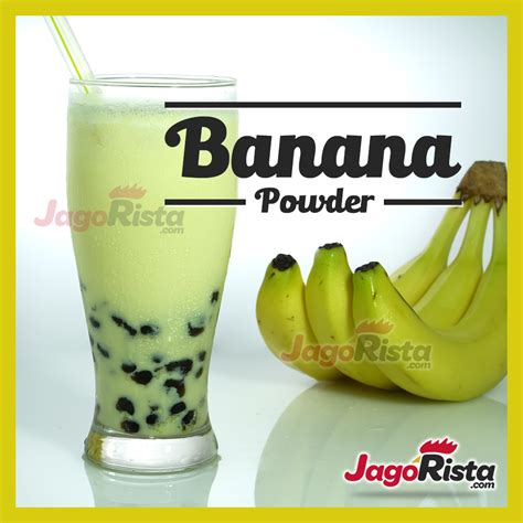 Bubuk Minuman Rasa Buah Sirsak Powder Soursop jagorista banana premium gold drink powder bubuk minuman
