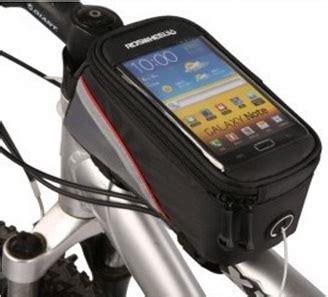Roswheel Tas Sepeda Waterproof Untuk 4 8 Inch Smartphone Black roswheel tas sepeda waterproof untuk 5 5 inch smartphone
