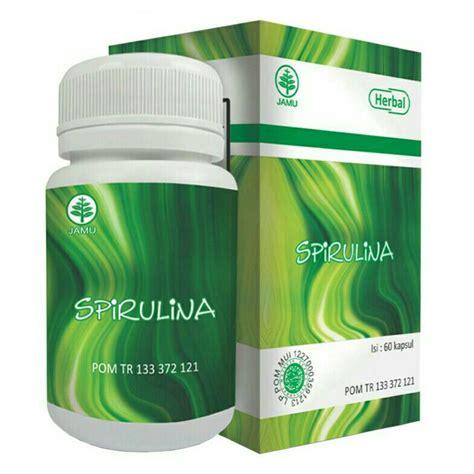 Vitamin Untuk Daya Tahan Tubuh Asli Spirulina Gold 60kps kapsul hiu spirulina alzafa store alzafa store