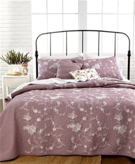 macys bedding quilts nostalgia home bedding neveah purple quilts quilts