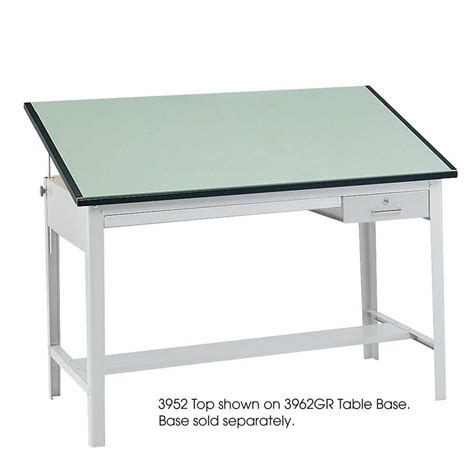 Drafting Table Top Safco 37 5 Quot X 60 Quot Precision Drafting Table Top Only 3952
