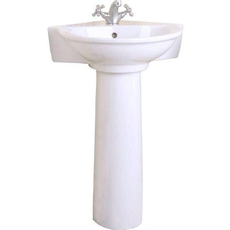 corner pedestal sinks for small bathrooms 1000 ideas about corner pedestal sink on pinterest