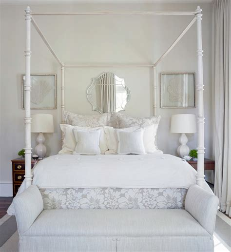 bedroom white bedroom bench best of metal canopy bed with may river custom home traditional bedroom atlanta