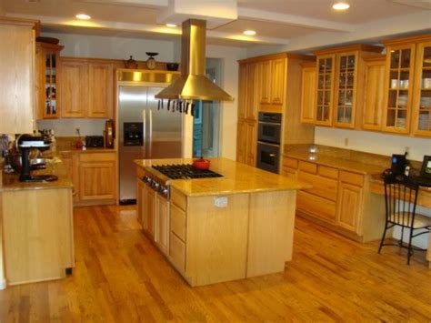 golden cabinets golden oak flooring in kitchens trying to decide w