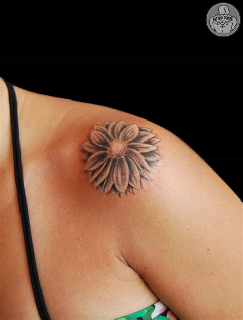 daisy shoulder tattoo tattoos and designs page 85