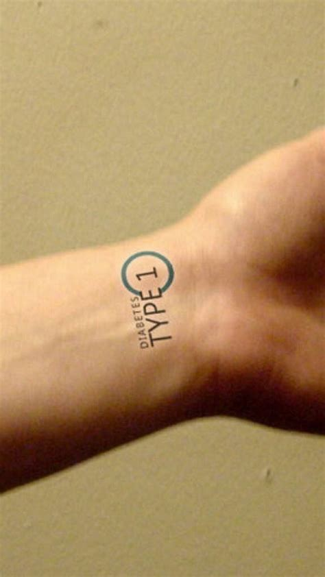 type 1 diabetes tattoo the gallery for gt type 1 diabetes designs
