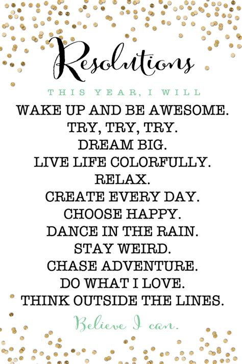 new year printable posters 2015 resolutions free printable free printable free and