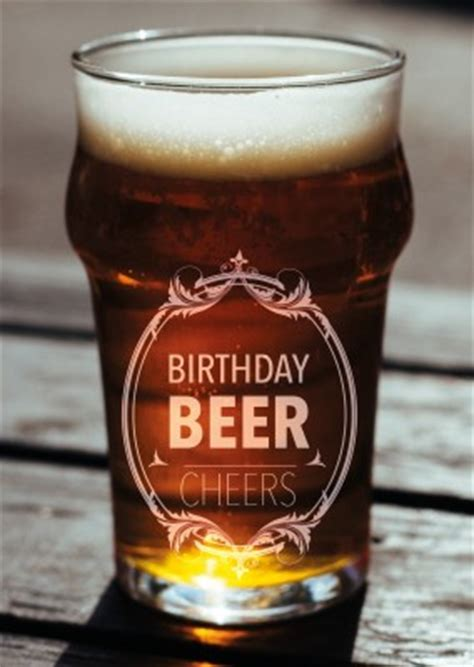beer happy birthday images bier glas birthday beer cheers postkarte grusskarte