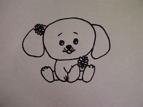 Leichte Bilder Zeichnen by Lieben Hund Welpen Zeichnen Zeichnen Basteln Zum