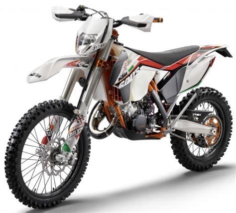 125ccm Motorrad Unterhaltungskosten by Ktm Exc 125 Sixdays 2014 Weiss