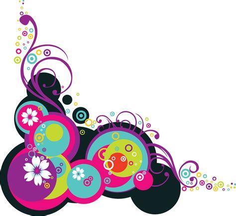 colorful floral design background illustrator vector colorful vector flowers free vector 4vector