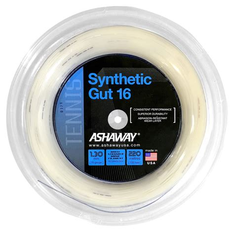 Toalson Tennis String Synthetic Gut Ultrasoft ashaway synthetic gut 16 1 30mm 220m reel w d strings