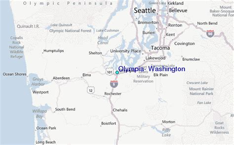 olympia washington map olympia washington tide station location guide