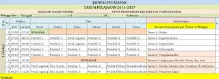 Kumpulan Soal Lengkap Ulangan Harian Sdmi Kelas 6 Semua Mata Pelajara jadwal pelajaran tema sd mi kurikulum 2013 tahun 2016