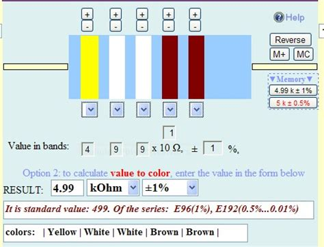 resistor color code calculator ppt resistor closest value calculator 28 images diodes applications ee ppt resistor color code
