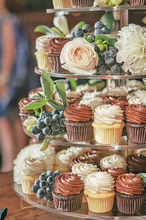 Wedding Cake And Cupcake Ideas by 24 Creative Wedding Cupcake Ideas For Your Big Day Oh