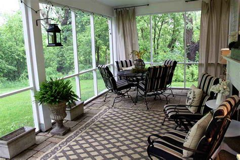 small screened back porch ideas enclosed porch decorating ideas gallery