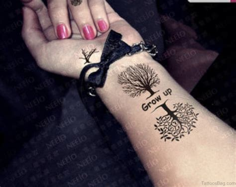 cool tree tattoos 77 coolest tree tattoos for wrist