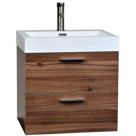 22 75 quot single bathroom vanity set in walnut tn t580 wn