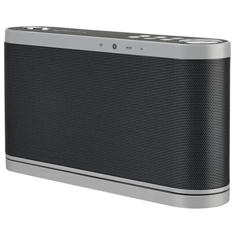 ilive wi fi speaker with rechargeable battery black