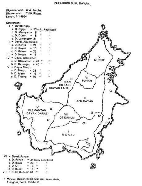 tato dayak ot danum rumpun ot danum wikipedia bahasa indonesia ensiklopedia