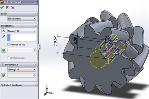 solidworks tutorial helical gear tutorial how to create a double helical gear in