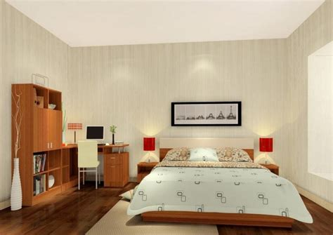 Simple House Design Inside Bedroom | interior design rendering of simple bedroom 3d house