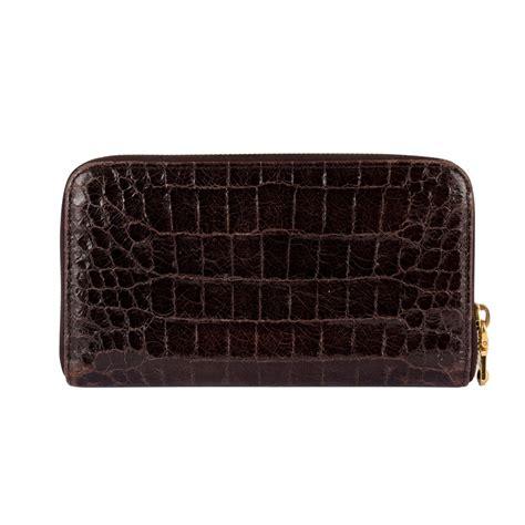 Miu Miu Patent Continental Wallet by Miu Miu Patent Crocodile Embossed Leather Wallet My