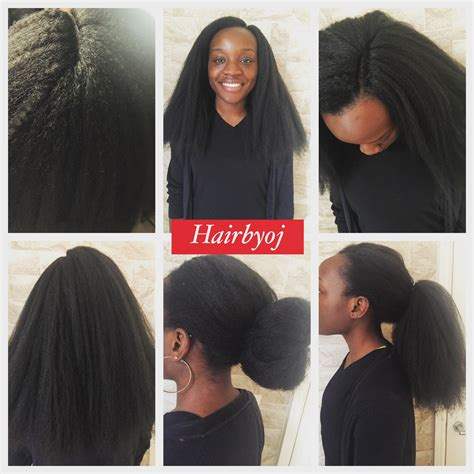 criochet braiding leaving the perimeter of your hair out crochet braids with blowdried marley hair knotless side