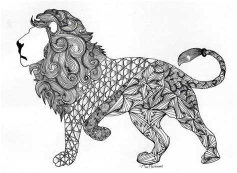 lion zentangles google search doodle zentangle pen zentangle lion google search doodles pinterest