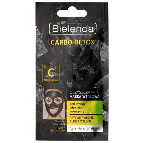 Detox Drink Carbon 20 by Bielenda Carbo Detox Active Carbon Oczyszczająca Maseczka