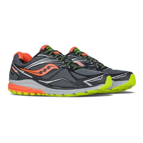 saucony ride running shoes saucony ride 9 gtx running shoes 50 sportsshoes