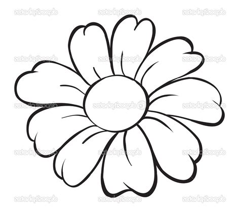 flower simple simple flowers drawing pictures 4k wallpapers