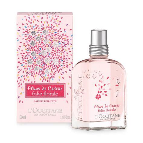 fleurs de cerisier folie florale l occitane en provence perfume a new fragrance for 2016