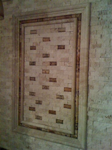 cork backsplash tiles cork and split travertine backsplash