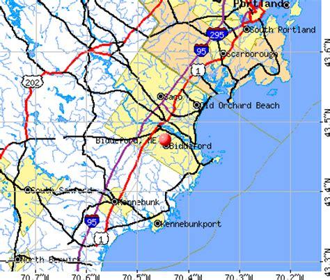 map of biddeford maine biddeford maine me 04005 04006 profile population