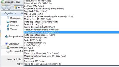 format fichier csv comment importer des donn 233 es excel dans rstudio