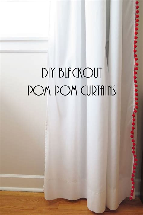 Vivan Curtain Inspiration 25 Best Ideas About Pom Pom Curtains On Pinterest Dining Table Runners Window Curtains And