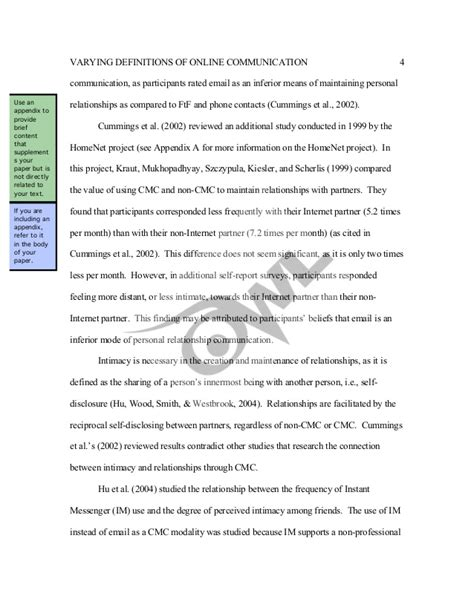 apa layout guidelines apa format guidelines