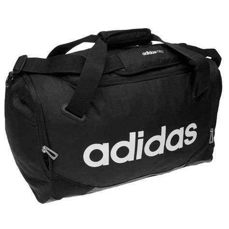 Tas Adidas Lined Small Team Bag Grey Sports Original Travel Fitnes adidas adidas linear team bag small all bags