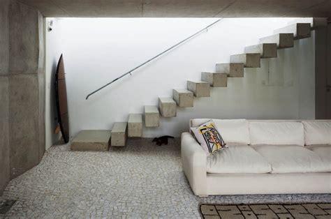 sichtbetontreppe innen moderne betontreppe bauen 22 ideen f 252 r innen und