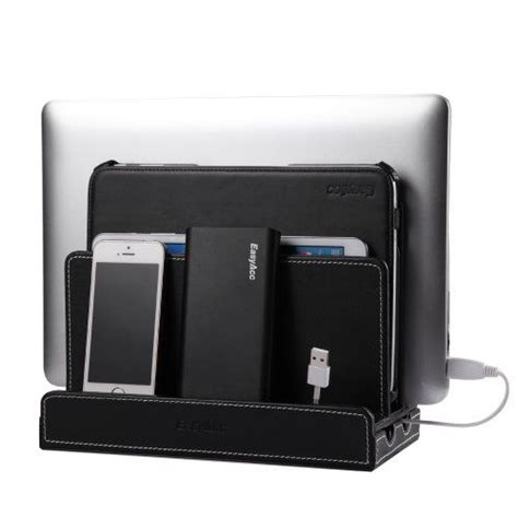 multi device charging station and cord organizer easyacc universal multi device cord organizer stand and