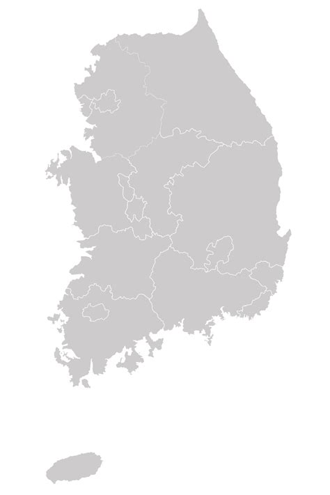 File:Map of South Korea-blank.svg - Wikimedia Commons