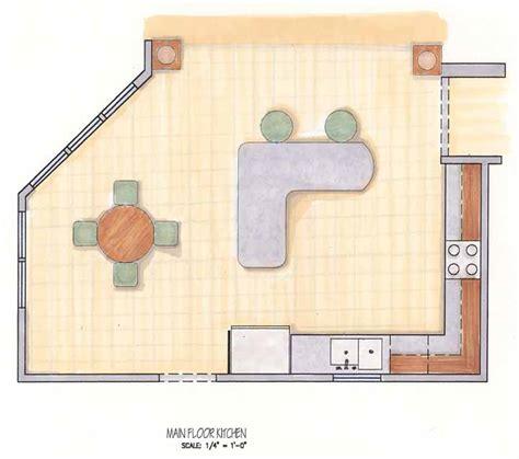 remodel floor plans kitchen floor plan