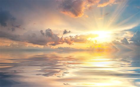 L Dawning by 唯美高清海景电脑桌面主题壁纸大全 风景壁纸 壁纸下载 美桌网
